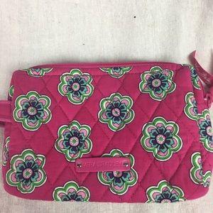 Vera Bradley cosmetic pouch case